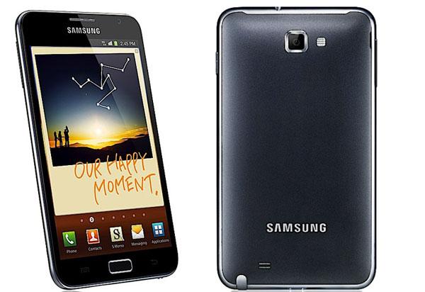Samsung Galaxy Note super pantalla de 5,3 pulgadas
