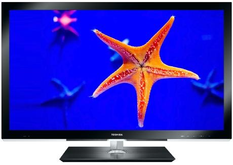 TV 3d sin gafas Toshiba de 55 pulgadas