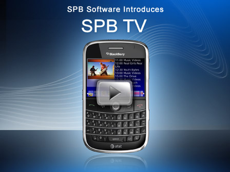Ver TV en tu Blackberry o Android con SPB TV