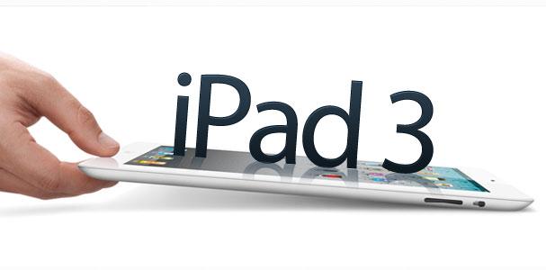 El lanzamiento del iPad 3 muy cerca