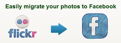 Como trasladar las fotos desde Flickr  a Facebook