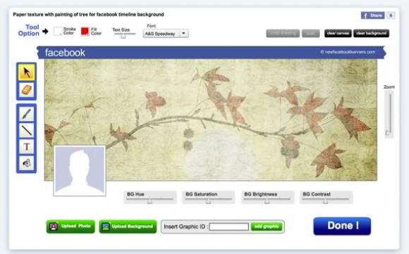 Facebook Cover Designer: crear portadas con tu biografia de Facebook