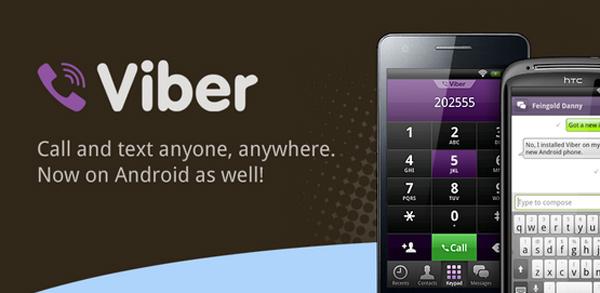 SMS y llamadas gratis para Android con Viber