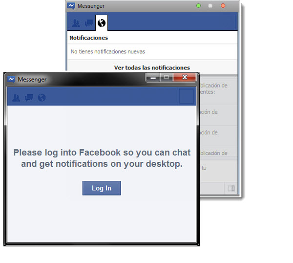 Facebook MSN | Facebook Messenger para Windows 7