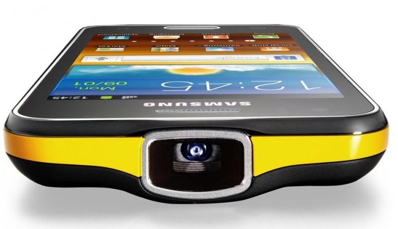 Samsung Galaxy Beam con proyector alta definición