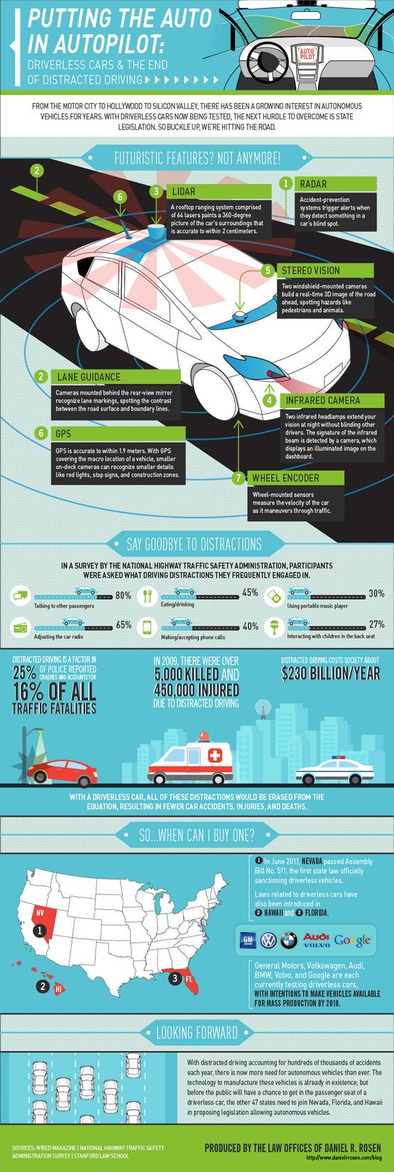 El automóvil con piloto automático ya es una realidad