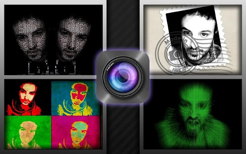 Agregar efectos divertidos a tus fotos Webcam con Fabcam