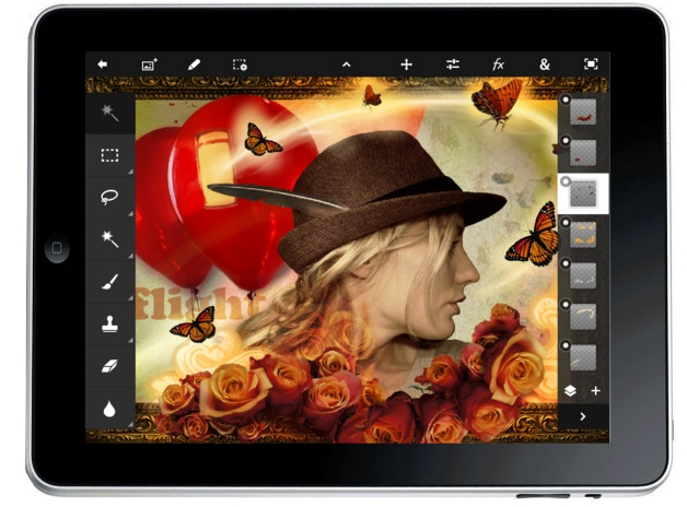 Descargar Photoshop Touch para iPad 2