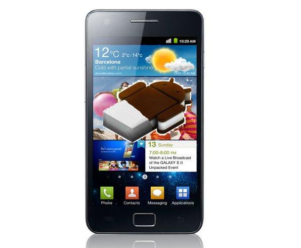 Android ICS para Samsung Galaxy S2 liberados