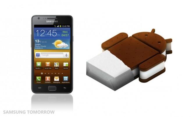 Android 4.0 para Samsung Galaxy S2 (actualización disponible)