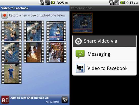 Subir vídeos a Facebook desde Android con Video to Facebook