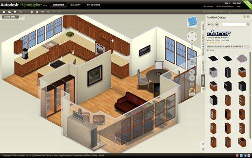 Como dise ar y personalizar una casa con autodesk for Programa para dibujar en 3d gratis