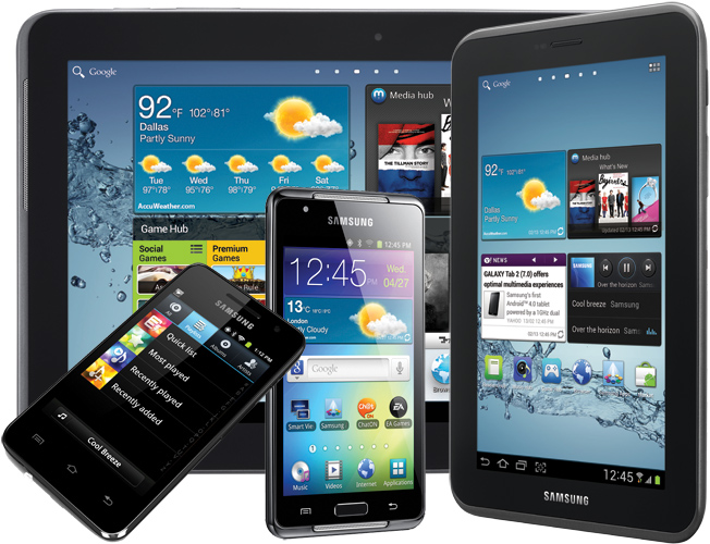 Nuevos Samsung Galaxy Player y Samsung Galaxy Tab 2