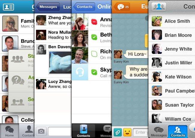 skype para blackberry z10 bar