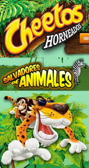 Promo cheetos de Animal Planet  www.cheetos.com.co