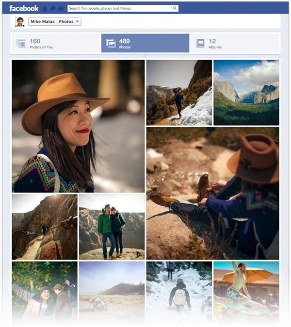 El nuevo visor de fotos de Facebook