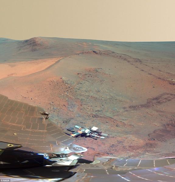 Nueva imagen de Marte por la Nasa