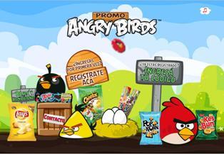 Promo Angry Birds de Lay's
