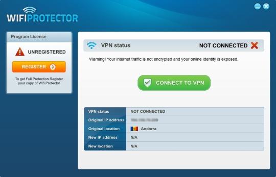 Protección para conexión WiFi con WiFi Protector