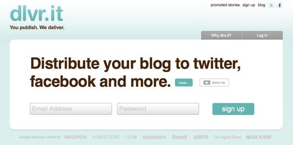 Publicar posts automáticamente en Facebook y Twitter