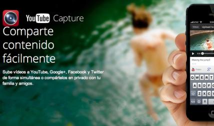 YouTube Capture: Aplicación Oficial de YouTube para descargar videos en iPhone o iPod Touch