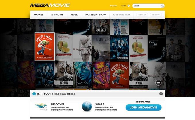MEGAMOVIE: Películas, musicales y series en línea