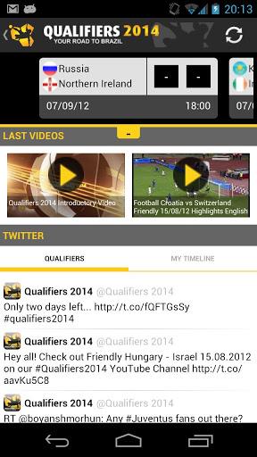 Descarga Eliminatorias Brasil 2014 para Android gratis