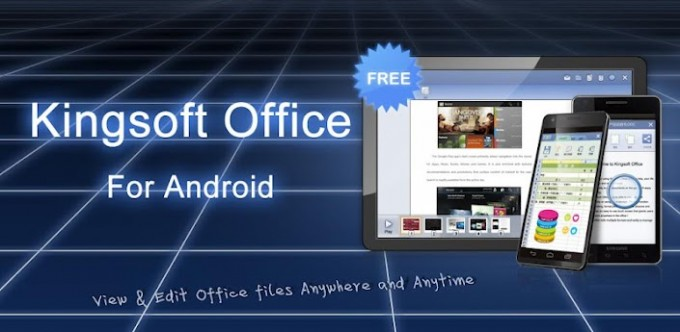 Office en español para Android, descarga Kingsoft Office 2013
