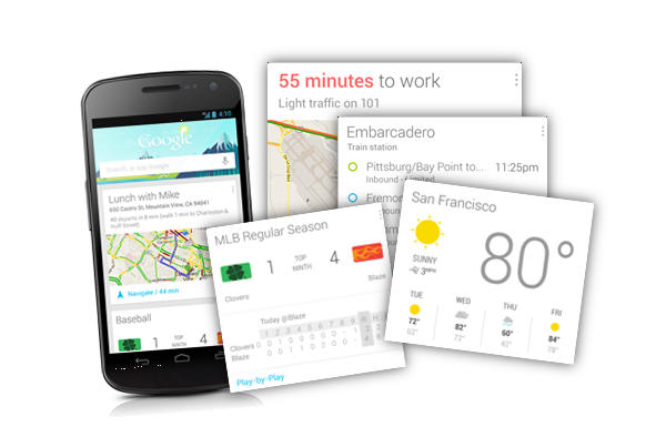 Google Now para descargar en iPad e iPhone