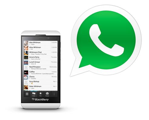 Descargar WhatsApp para Blackberry Q10