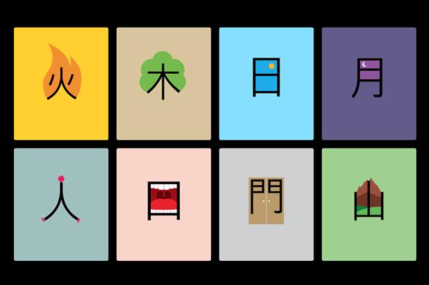 Aprender chino en forma fácil, guía visual Chineasy