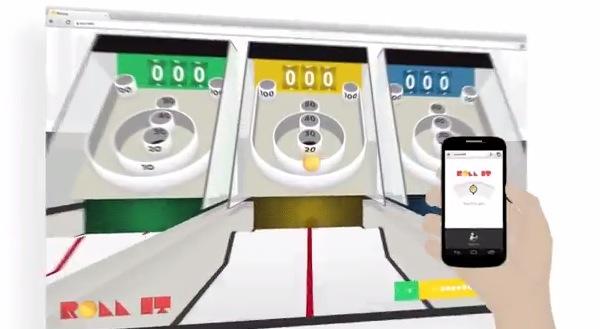 Roll it, el nuevo juego de Google para jugar con tu PC y celular