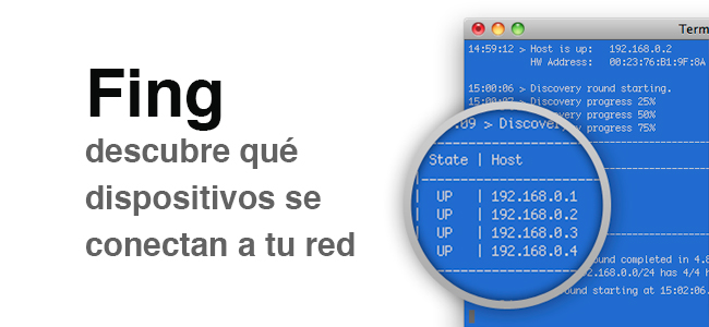 Detectar intrusos en mi red WiFi con Fing