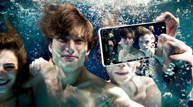 Filmar y/o fotografiar bajo el agua con Sony Xperia ZR