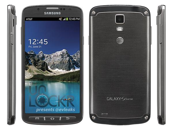 Imágenes oficiales del Samsung Galaxy S4 Active
