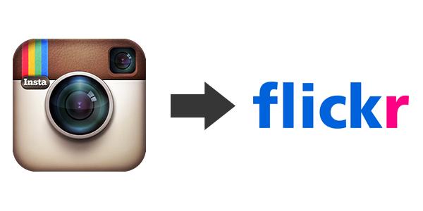 Pasar fotos de Instagram a Flickr automáticamente