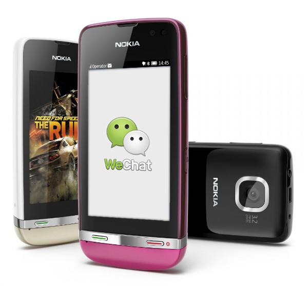 WeChat para Nokia Asha 303