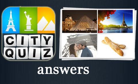 Respuestas City Quiz para el Facebook