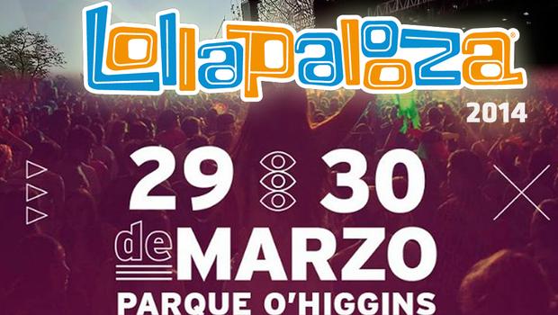 Lollapalooza 2014 entradas preventa