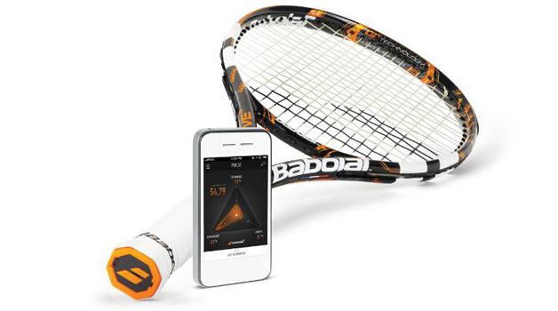 La primer raqueta de tenis inteligente
