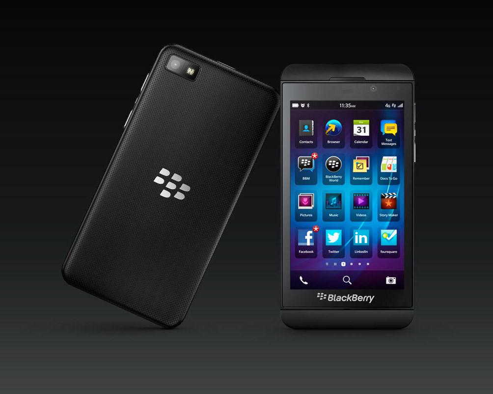 Descarga de aplicaciones para Blackberry Z10