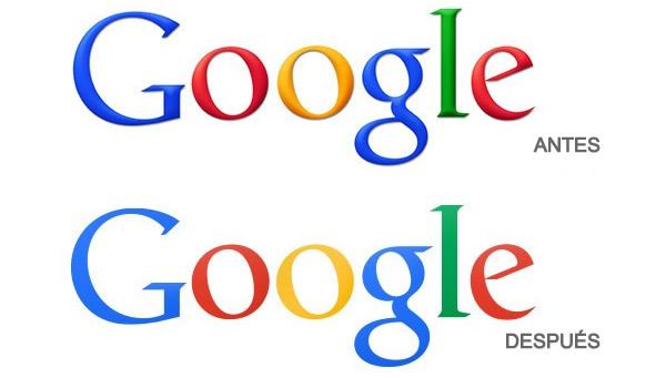 Nuevo logo de Google en estreno
