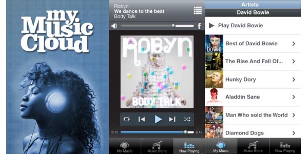 Toda tu música en todos tus dispositivos con My music Cloud