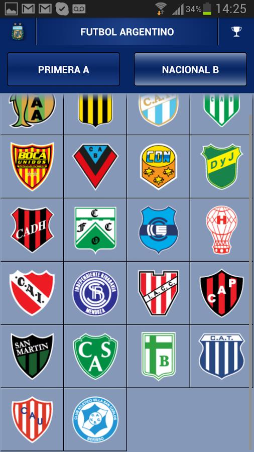 Centro gol_ Fútbol Argentina: Descargar para Tablet Android