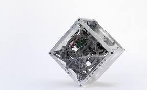 El cubo tecnologico con movimientos