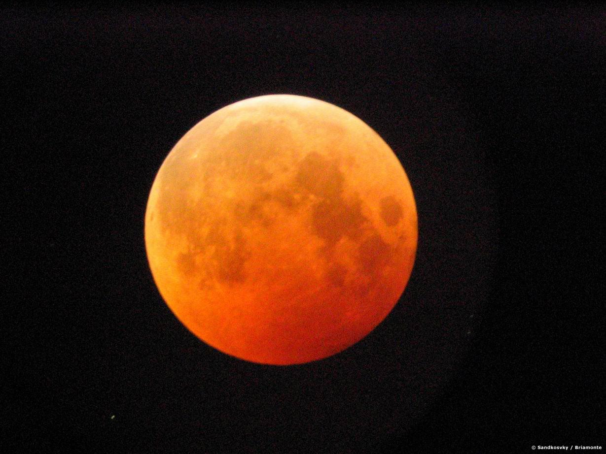 Como sera el eclipse lunar de esta noche