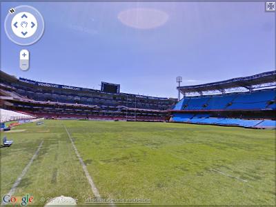 Recorrer los estadios del Mundial con Street View