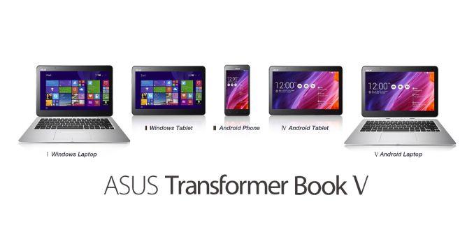 Asus Notebook híbrida: Transformer Book V