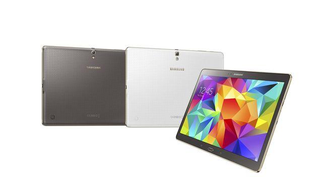 Samsung Galaxy Tab S ultrafina, caracteristicas de la tableta
