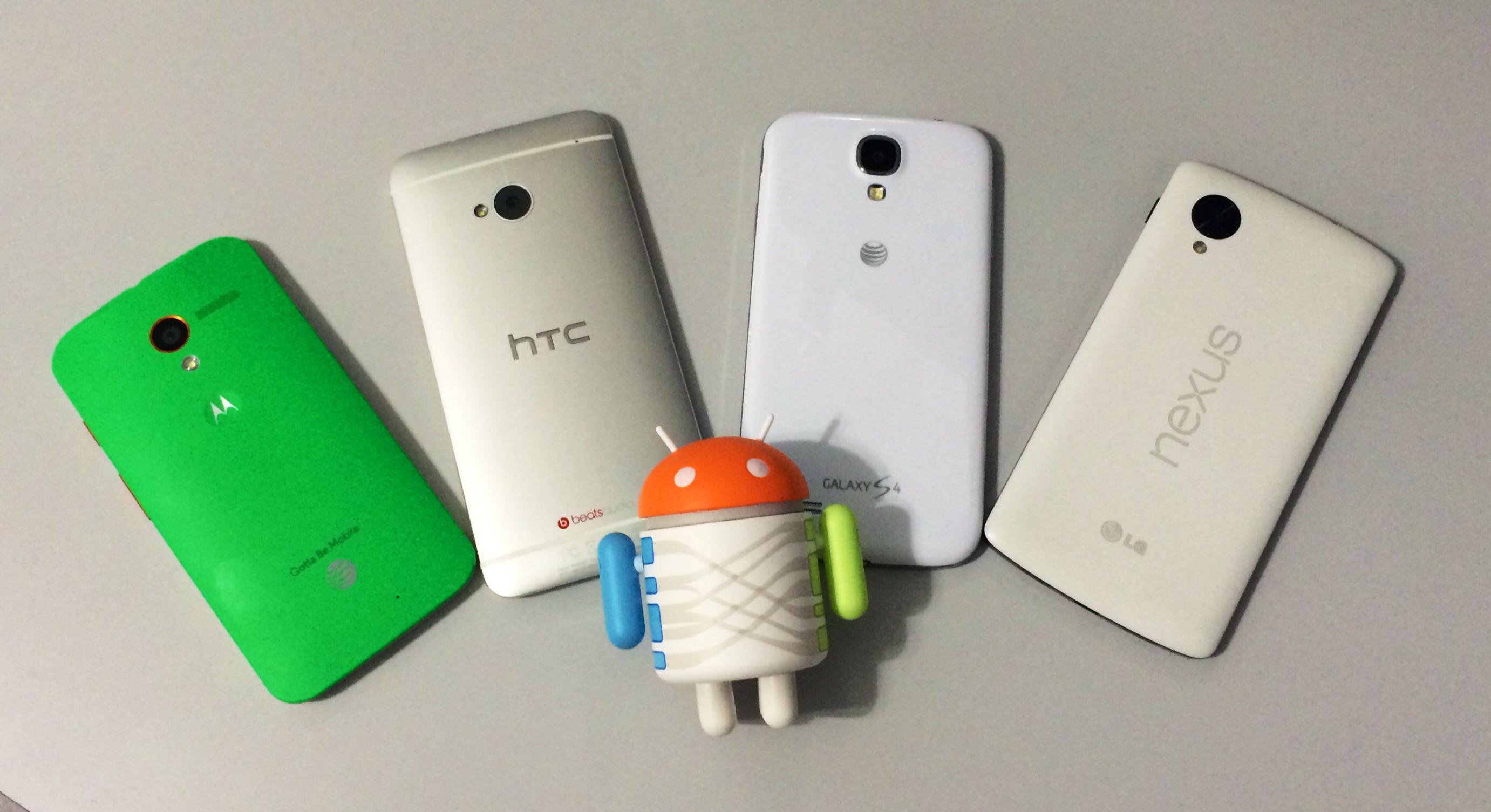 Android de Google, el rey de los smartphones